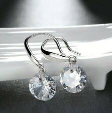Hook Silver <b>Stone Fashion</b> Earrings for sale | eBay