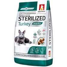 <b>Зоогурман Sterilized</b> — <b>сухой корм</b> для стерилизованных кошек ...