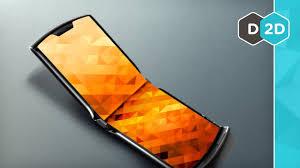 The <b>NEW Folding</b> Flip Phone - YouTube