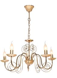 <b>SILVER LIGHT 121.58.5</b> серия Fancy, цвет золото 5XЕ14X60W ...