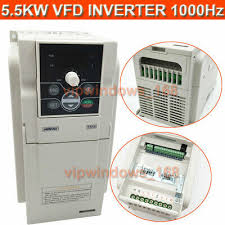 5.5KW 7.5HP VFD Inverter Driver 3phase 1000Hz 220V 24A ...