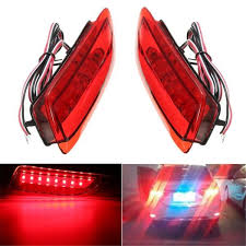 <b>2pcs Rear Tail</b> LED <b>Bumper Brake</b> Stop Running <b>Light</b> For Toyota ...