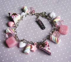 over the rainbow marshmallow <b>candy</b> charm bracelet | <b>Браслет</b> из ...