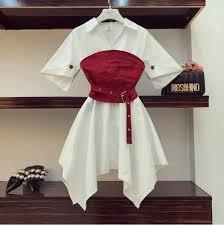 <b>2019 New Fashion</b> Summer <b>Women</b> Strapless Shoulder Letter Long ...