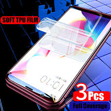 3D <b>Silicone</b> Soft <b>TPU Hydrogel Sticker</b> Film Front Full Screen ...