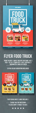 flyer food truck restaurant food truck and trucks flyer food truck flyers print templates