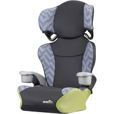 Evenflo Big Kid <b>Sport</b> High Back Booster <b>Car Seat</b>, Goody Two Tones