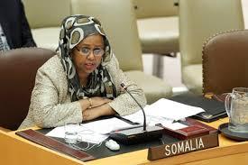 ministra en Somalia