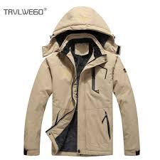 <b>TRVLWEGO</b> Plus Size <b>Ski Jacket</b> Windproof Snowboard Winter ...