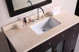 top bathroom cabinets  venetian quot single sink bathroom vanity top