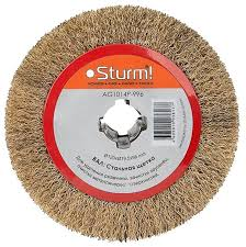 Шлифовальная <b>щетка Sturm</b>! <b>AG1014P-996</b> 1 шт. — купить по ...