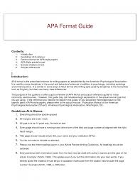 cover letter examples of apa format essays examples of apa format cover letter best photos of book review sample apa paper style format exampleexamples of apa format