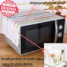 【Dust-proof cotton】<b>1Pc Microwave oven</b> proof dust and dirt cover ...
