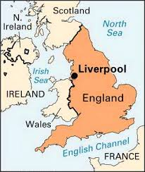 Image result for map of Liverpool and Irish Sea
