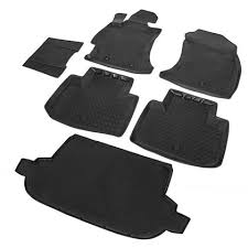 <b>Комплект ковриков</b> 'Rival' для <b>салона и</b> багажника Subaru Forester ...