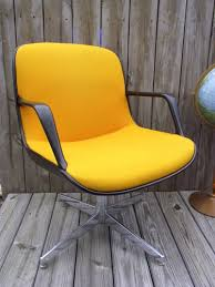 vintage yellow chair amazing retro office chair