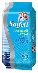 Купить <b>Влажные салфетки Salfeti</b> для всей семьи в Минске с ...