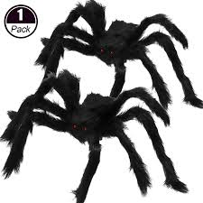 <b>Halloween</b> Decoration 30/50/<b>75cm</b> Super big plush Spider Mischief ...