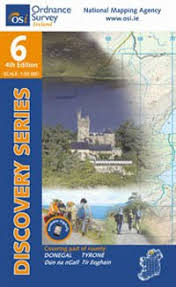 OSi 1:50,000 Discovery Series Maps - <b>Sheet 6</b> - The Ireland Walking ...