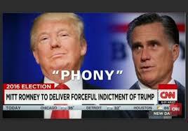 「Mitt Romney on trump」の画像検索結果