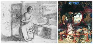 museums and culture the lady of shalott the women behind the art the lady of shalott the women behind the art