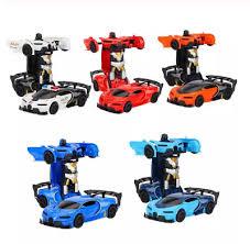 <b>Deformation Electronic</b> Car kids Toy Vehicle Transform Robots ...