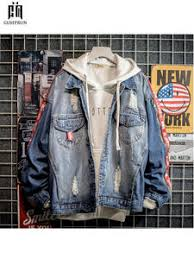 Online Shop for Popular denim hip hop jacket from Basic Jackets