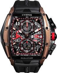 <b>Наручные часы</b> CVSTOS Challenge-III-Chrono-<b>Gold</b>-Titanium-Black