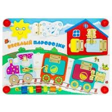 «Развивающая <b>игрушка Alatoys</b> Паровозик» — Детские <b>игрушки</b> ...