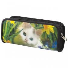 <b>Brauberg Пенал</b>-<b>косметичка Белый</b> котенок - Акушерство.Ru