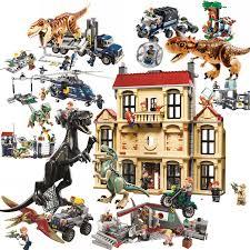 Lis <b>40Pcs</b>/Lot <b>Dino Valley Building</b> Blocks <b>Sets</b> Large particles ...
