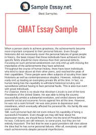 best gmat essay examples  sample essay how to write the gmat essay