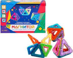 <b>Магнитой Конструктор магнитный 8</b> треугольников (2 - с окном ...