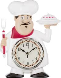 <b>Настенные часы Lefard Chef</b> Kitchen, 220-119, 19 х 5 х 30 см ...