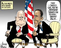 Image result for McCain CARTOON