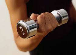 Image result for woman doing arm curl