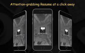 resume builder android apps on google play resume builder screenshot
