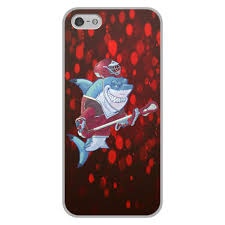 "Чехол для iPhone 5/5S, объёмная печать ""<b>Акула</b>"" #2336406 от ..."