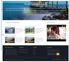 crimea joomla real estate template video section and footer of joomla 3 5 real estate template