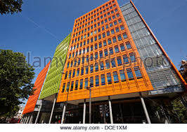 central saint giles office building home to google uk london england uk stock photo central saint giles office building google