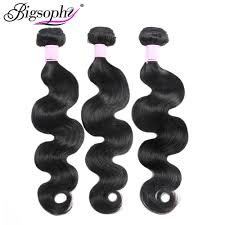 <b>Bigsophy</b> Human <b>Hair</b> Bundles Body Wave Bundles <b>Hair</b> 8 40 28 32 ...