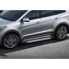 "<b>Пороги</b> алюминиевые ""<b>Silver</b>"" <b>Rival для</b> Hyundai Grand Santa Fe III ..."