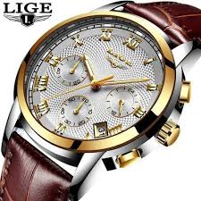 Order LIGE <b>Relogio Masculino Men Watches</b> Men's Watch ...