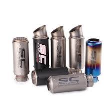 <b>Universal 51mm 61mm</b> sc project <b>Motorcycle</b> Exhaust Muffler ...