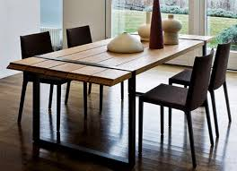 modern wood dining room sets:  ideas about contemporary dining room furniture on pinterest dining room furniture side chairs and chandeliers