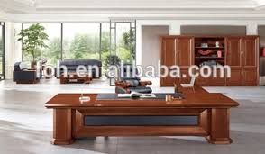 asian style office desk classic popular wooden office furniture with genuine leatherfoh asian office furniture