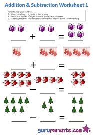 Kindergarten Math Worksheets | guruparentsAddition and Subtraction 1 ...