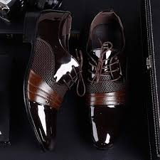 Men <b>Business Shoes Fashion Casual</b> Oxford Shoes Lace-Up ...