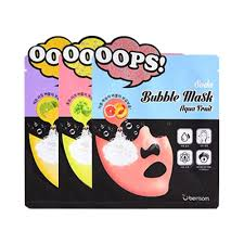 <b>BERRISOM Soda Bubble Mask</b> Box (5 Pieces) - 3TYPES   Shopee ...