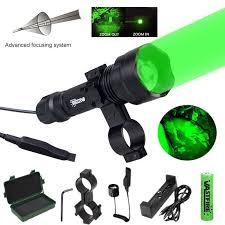 C8.2 <b>5000Lm</b> Q5 LED <b>Hunting Flashlight</b> Tactical Zoomable Hunt ...